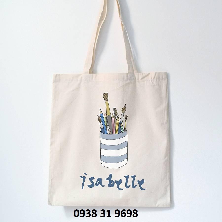 địa chỉ sản xuất túi vải bố
